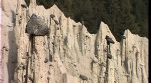 Hoodoo, a Natural Sandstone Formation